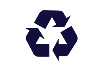 Sustainable recycled plastic