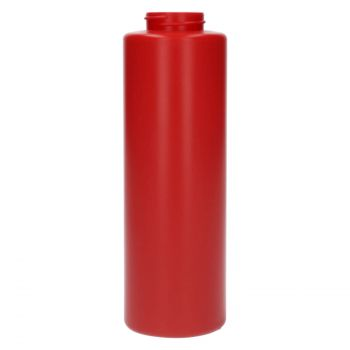 500 ml Flasche Sauce round MIX LDPE-HDPE rot 38.400