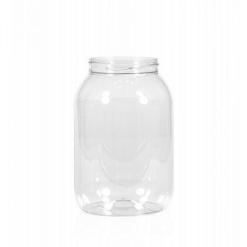 2500 ml Tiegel Big clear PET transparent