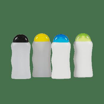Shower Flasche HDPE Weiß Natural