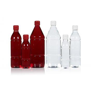 Mix Flasche PET Transparent