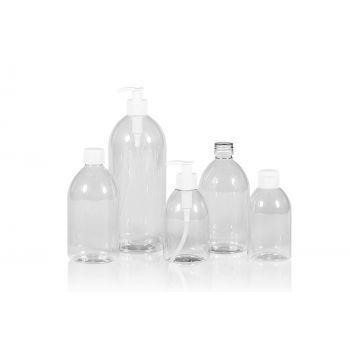 Soap Flasche PET Transparent