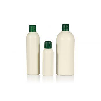 Recycelt Basic Round Flasche HDPE