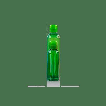Basic Round Flasche PET Grün